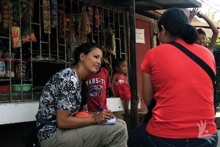 """Als Journalistin auf den Philippinen: Die Geschichten und Erfahrungen der """"normalen"""" Menschen berühren mich sehr."""