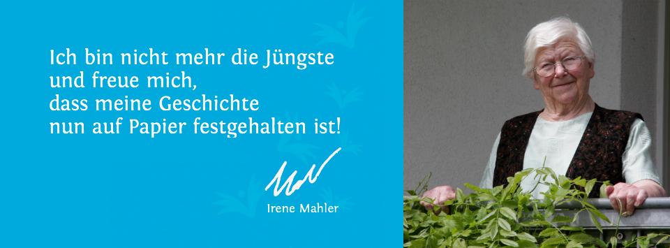 Referenz Erinnerungsbuch Irene Mahler