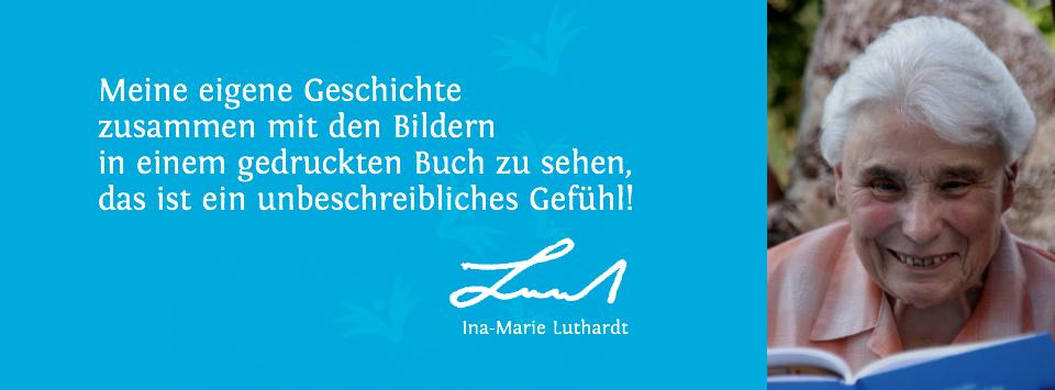 Referenz Erinnerungsbuch Ina-Marie Luthardt